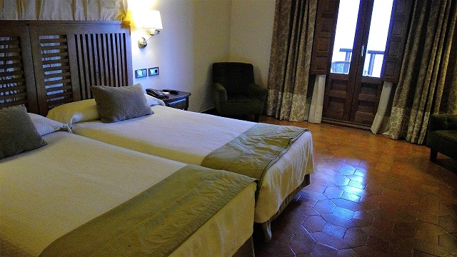 room of parador de toledo